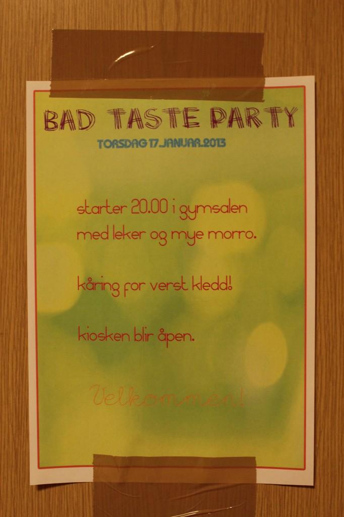 bad taste 112