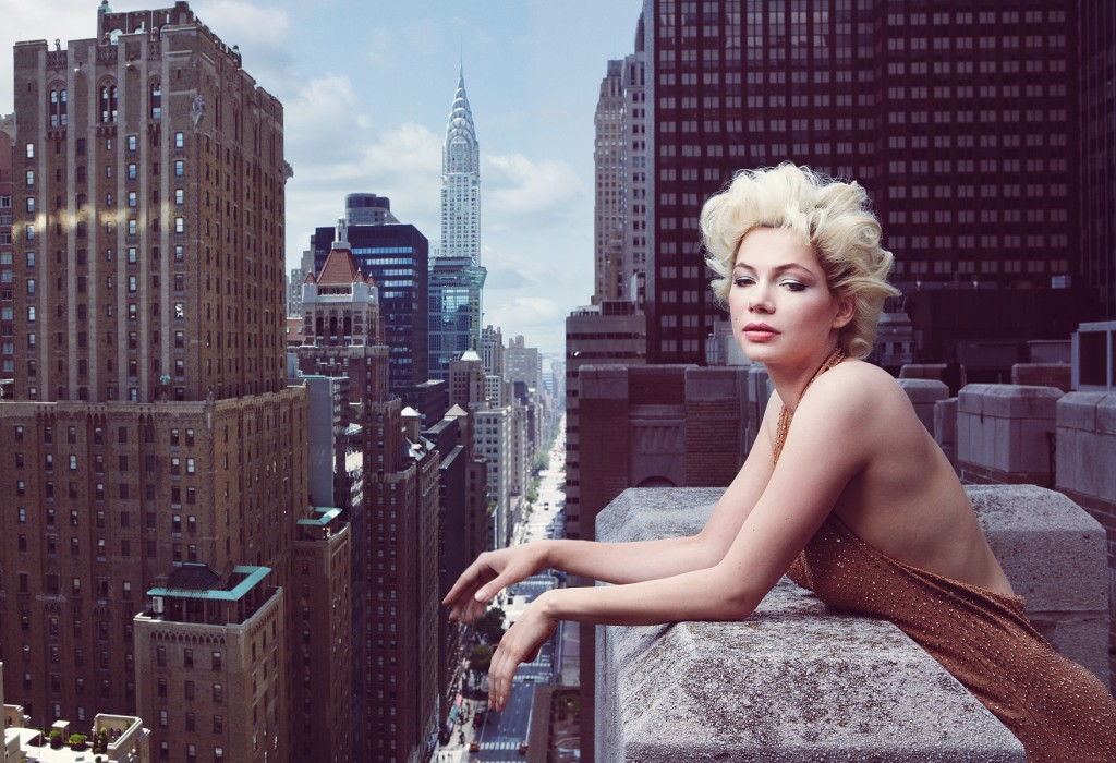 michelle williams - by annie leibovitz