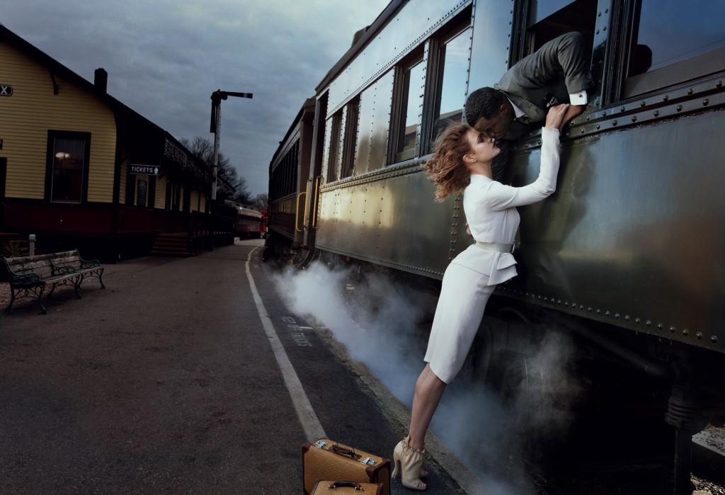 Sean DiddyCombs og Natalia Vodianova