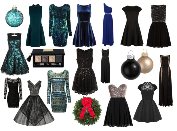 blue,green and black for christmas