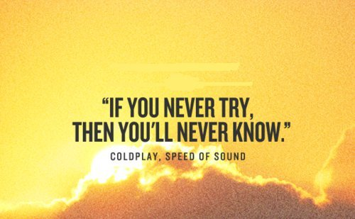 never know coldplay